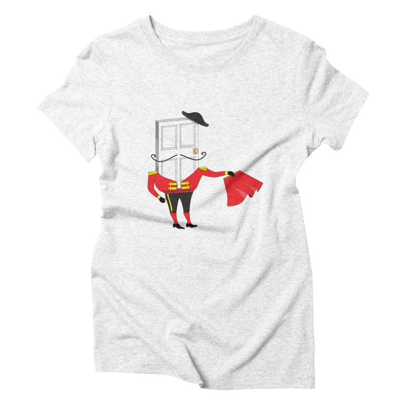 Matadoor Women's Triblend T-shirt by siso's Shop