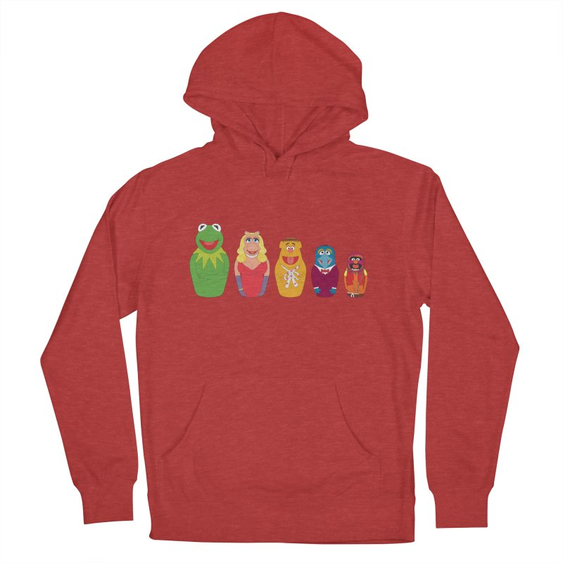 Muppets take Russia Men's Pullover Hoody by siso's Shop