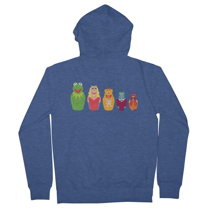 Muppets take Russia Women's Zip-Up Hoody by siso's Shop
