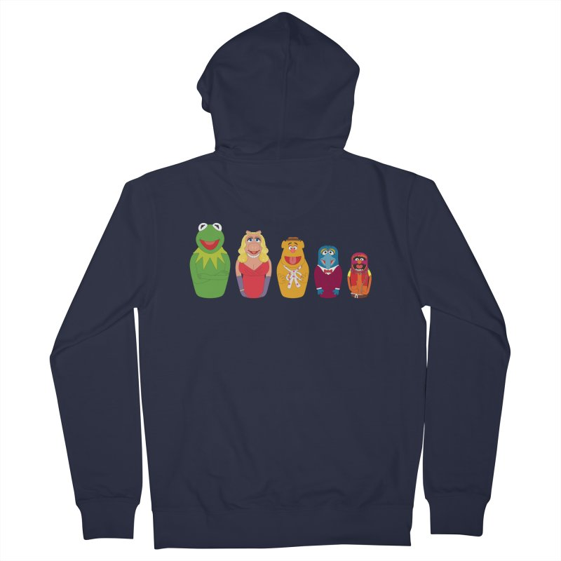 Muppets take Russia Men's Zip-Up Hoody by siso's Shop