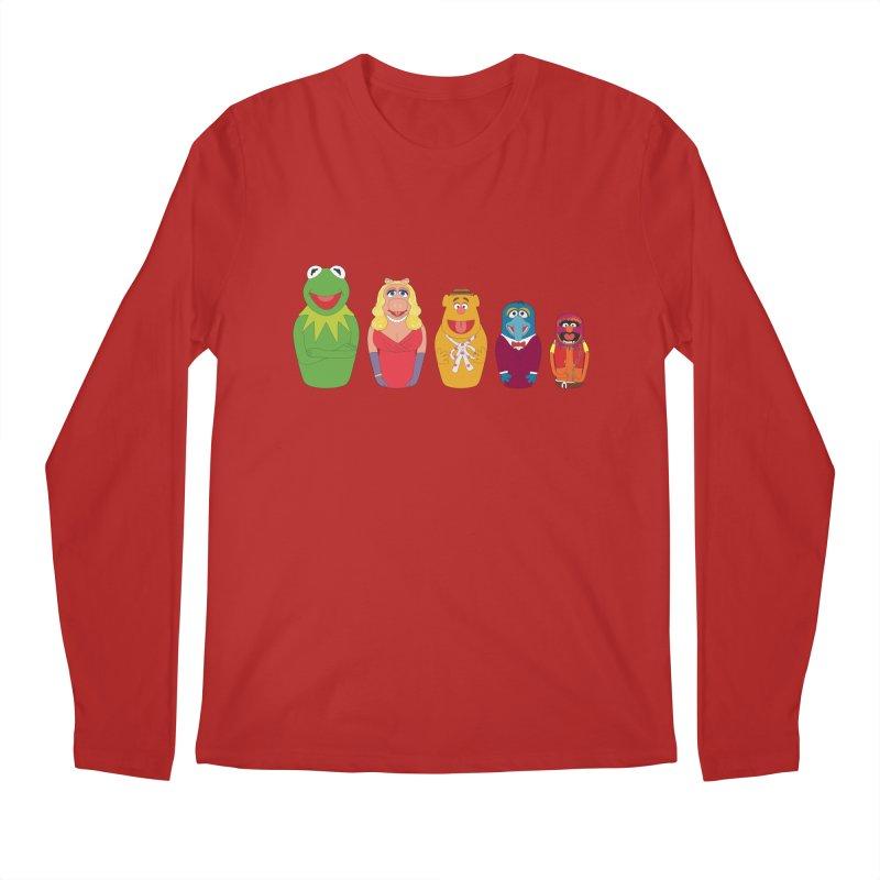 Muppets take Russia Men's Longsleeve T-Shirt by siso's Shop