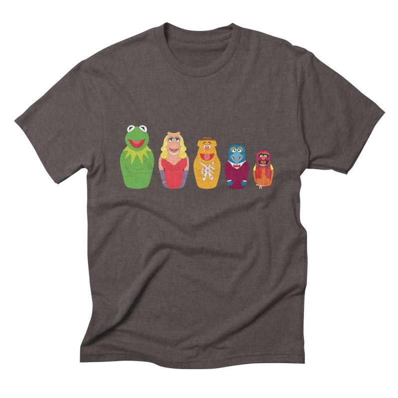 Muppets take Russia Men's Triblend T-shirt by siso's Shop