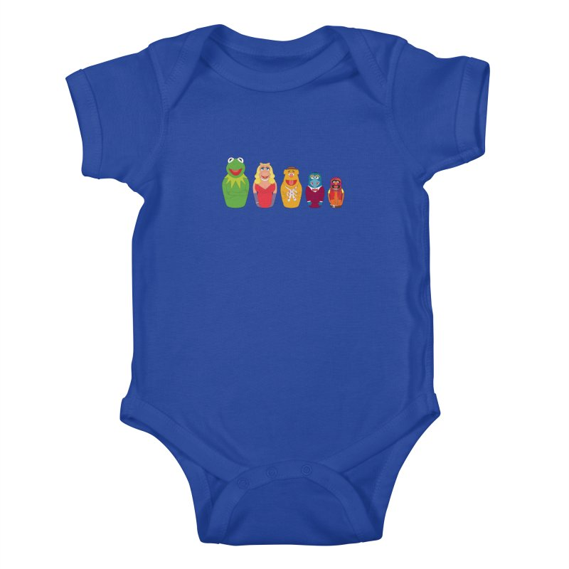 Muppets take Russia Kids Baby Bodysuit by siso's Shop