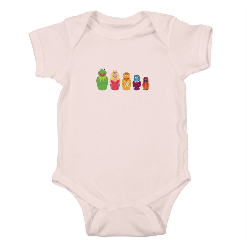 Muppets take Russia Kids Baby Bodysuit by siso's Shop