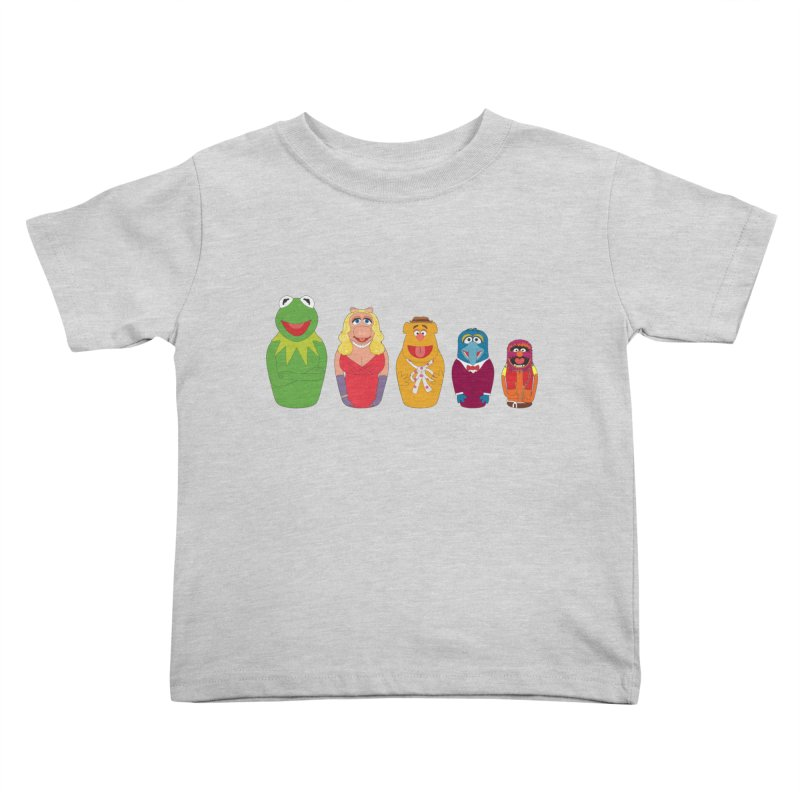 Muppets take Russia Kids Toddler T-Shirt by siso's Shop
