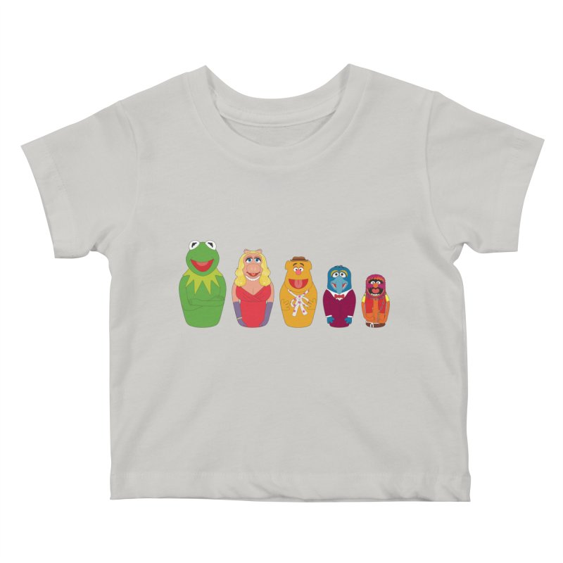 Muppets take Russia Kids Baby T-Shirt by siso's Shop