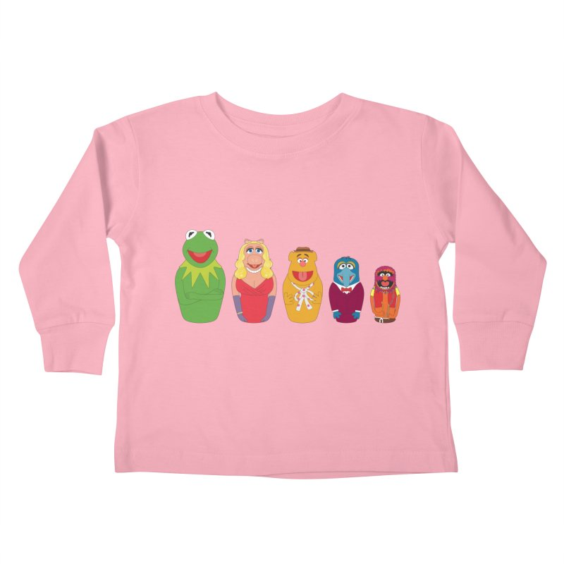Muppets take Russia Kids Toddler Longsleeve T-Shirt by siso's Shop