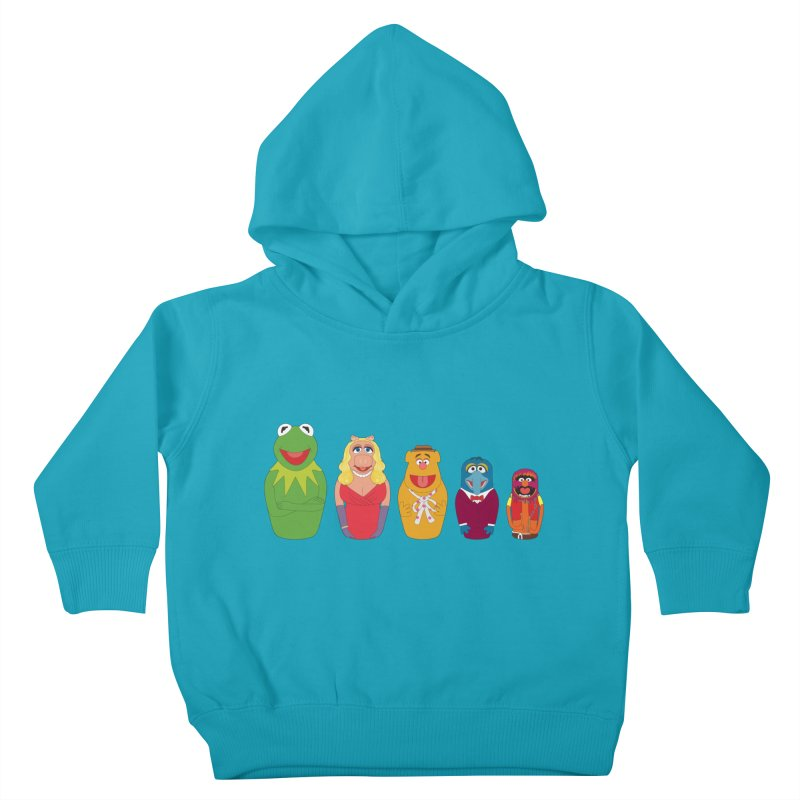 Muppets take Russia Kids Toddler Pullover Hoody by siso's Shop