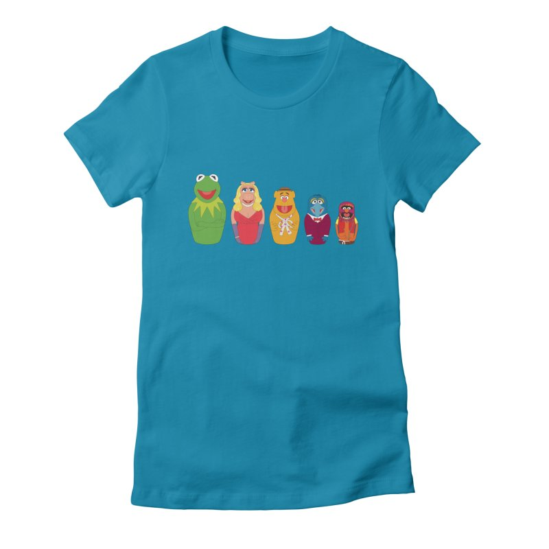 Muppets take Russia Women's Fitted T-Shirt by siso's Shop