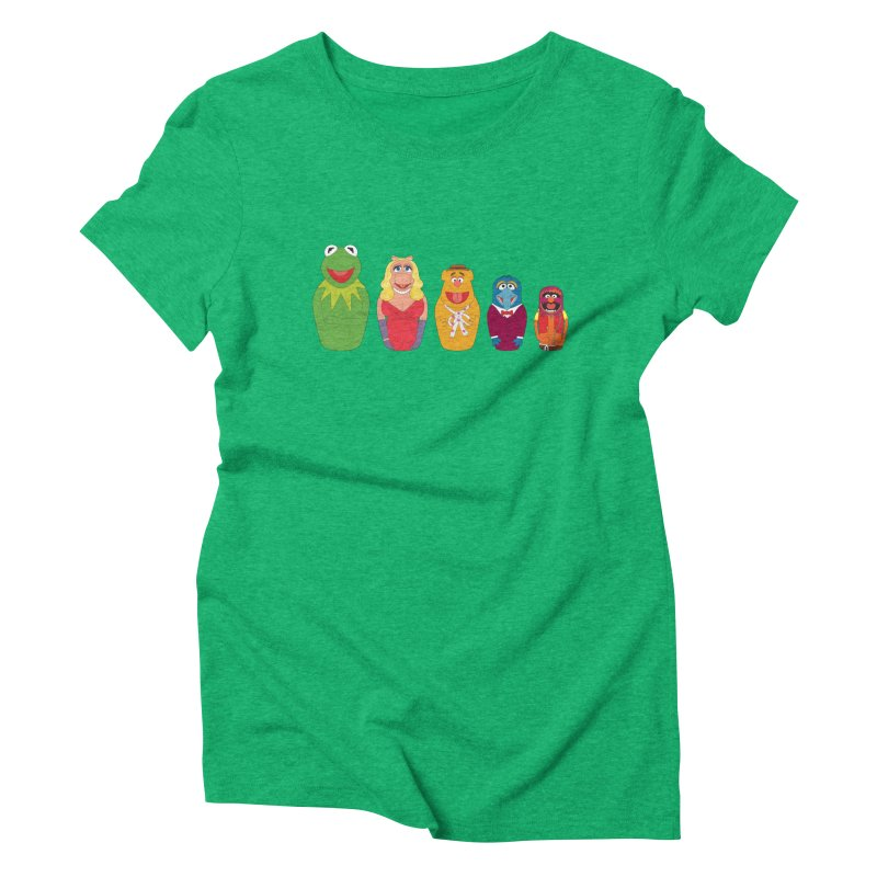 Muppets take Russia Women's Triblend T-Shirt by siso's Shop