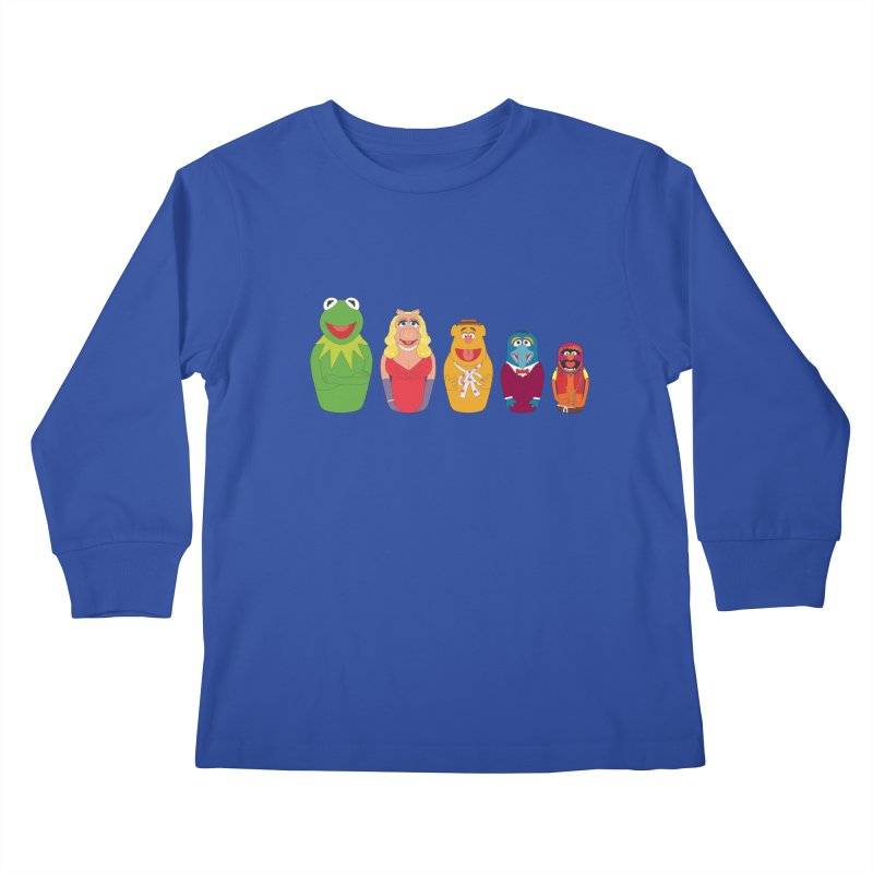 Muppets take Russia Kids Longsleeve T-Shirt by siso's Shop