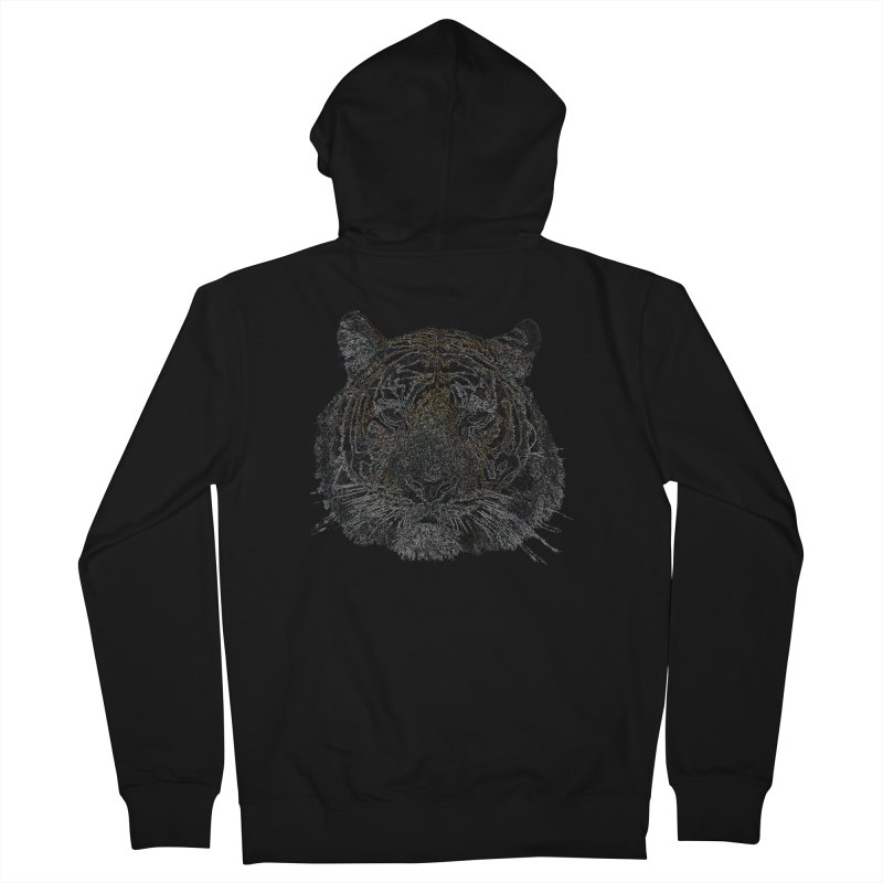 Tiger Tiger Women's Zip-Up Hoody by siso's Shop