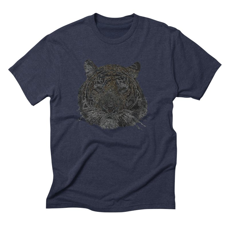 Tiger Tiger Men's Triblend T-shirt by siso's Shop