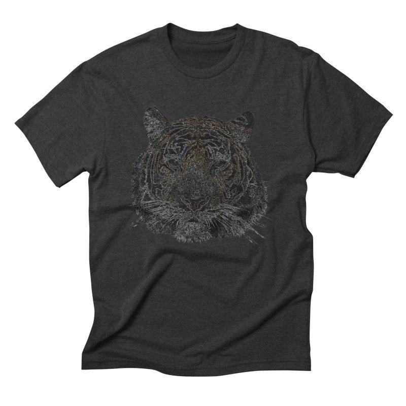 Tiger Tiger Men's Triblend T-shirt by siso's Shop