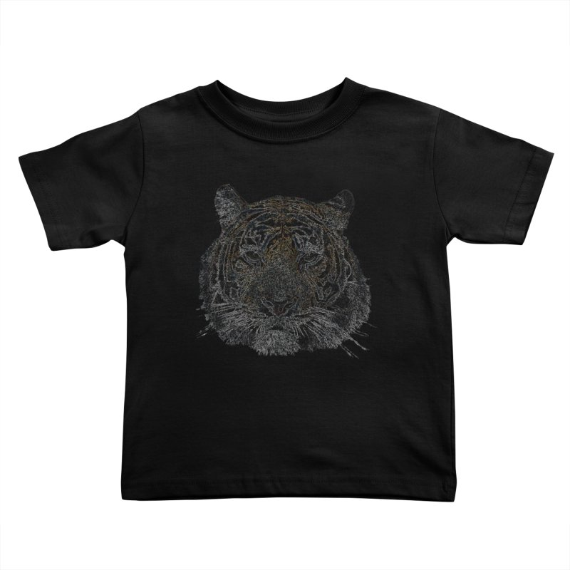 Tiger Tiger Kids Toddler T-Shirt by siso's Shop