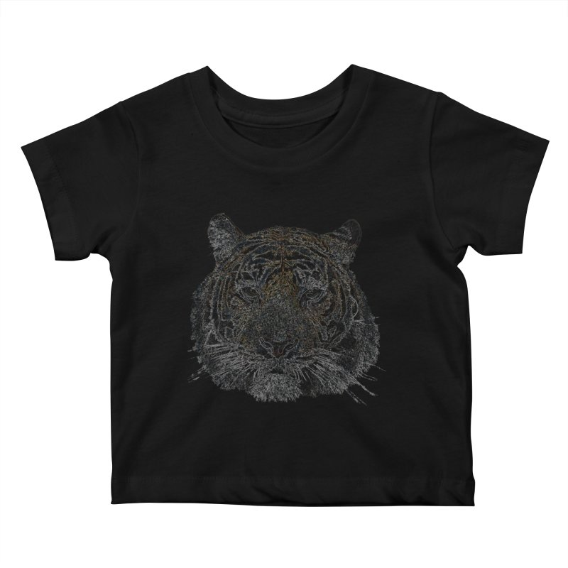 Tiger Tiger Kids Baby T-Shirt by siso's Shop