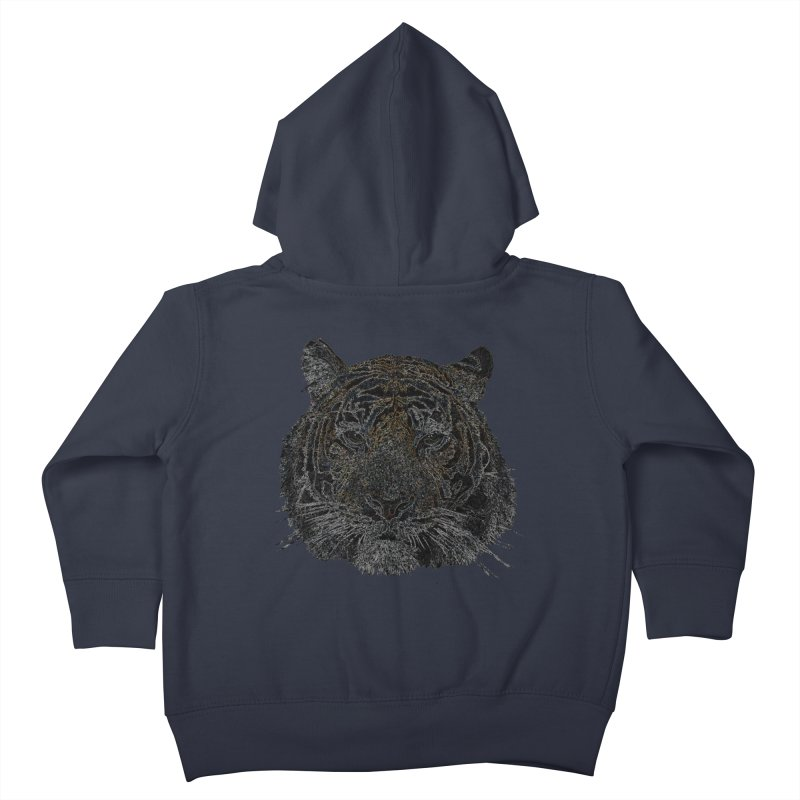Tiger Tiger Kids Toddler Zip-Up Hoody by siso's Shop