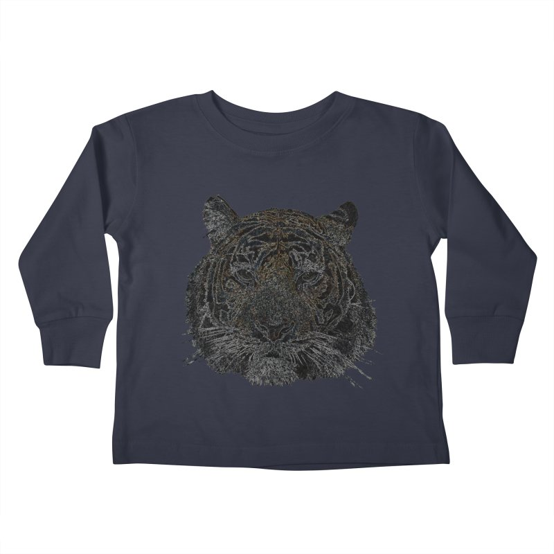 Tiger Tiger Kids Toddler Longsleeve T-Shirt by siso's Shop