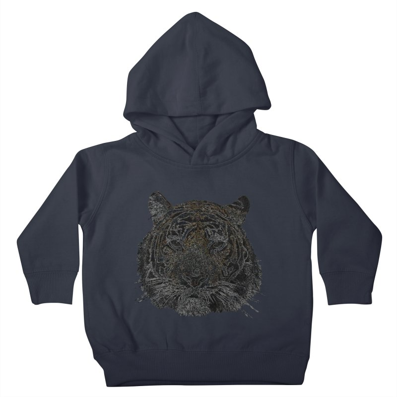 Tiger Tiger Kids Toddler Pullover Hoody by siso's Shop