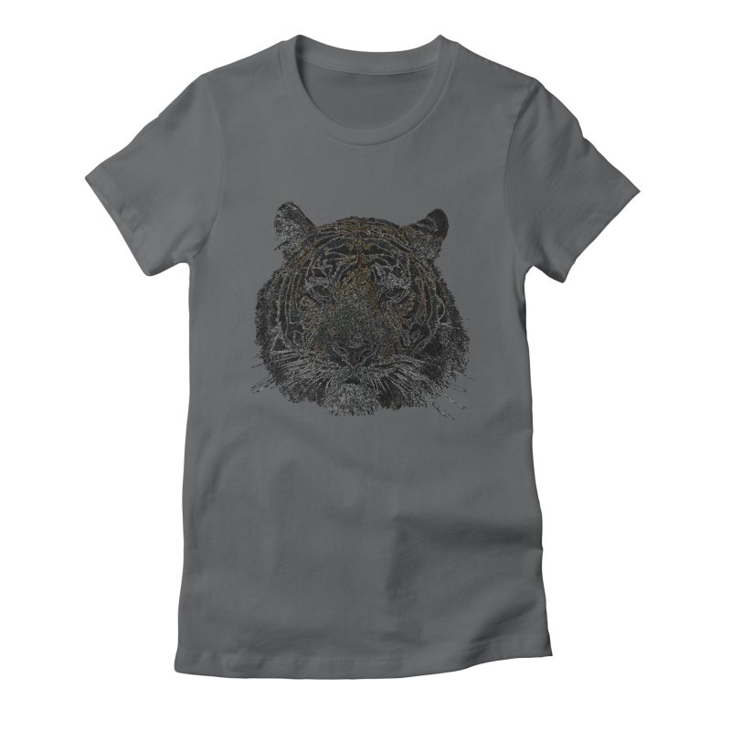 Tiger Tiger Women's Fitted T-Shirt by siso's Shop
