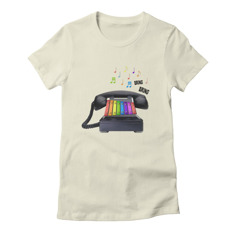 xylophone Women's Fitted T-Shirt by siso's Shop