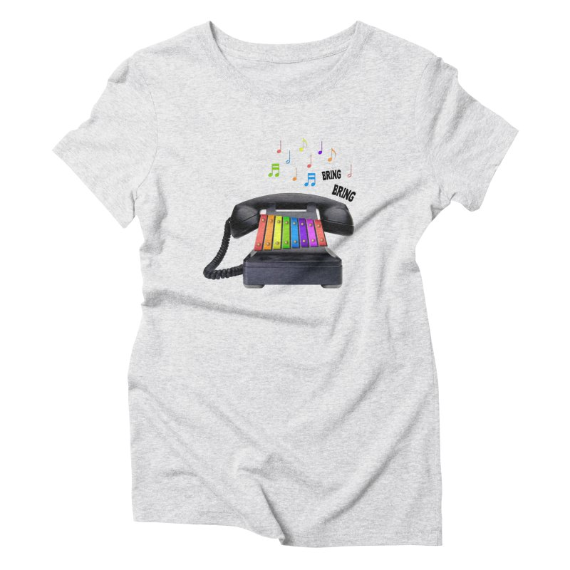 xylophone Women's Triblend T-Shirt by siso's Shop