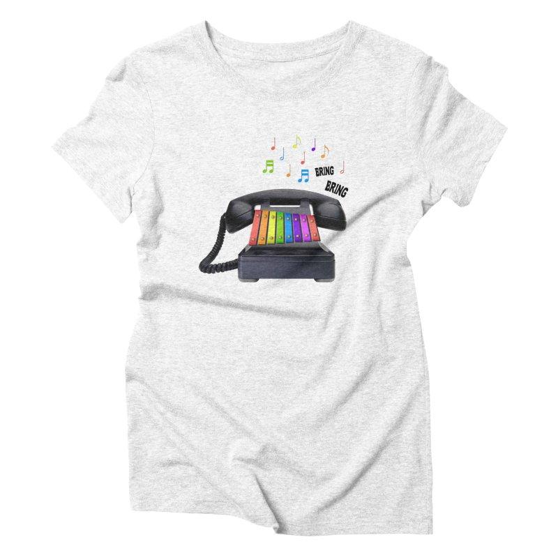 xylophone Women's Triblend T-shirt by siso's Shop