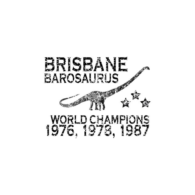 Dino cup - Brisbane Barosaurus (Black) by siso's Shop