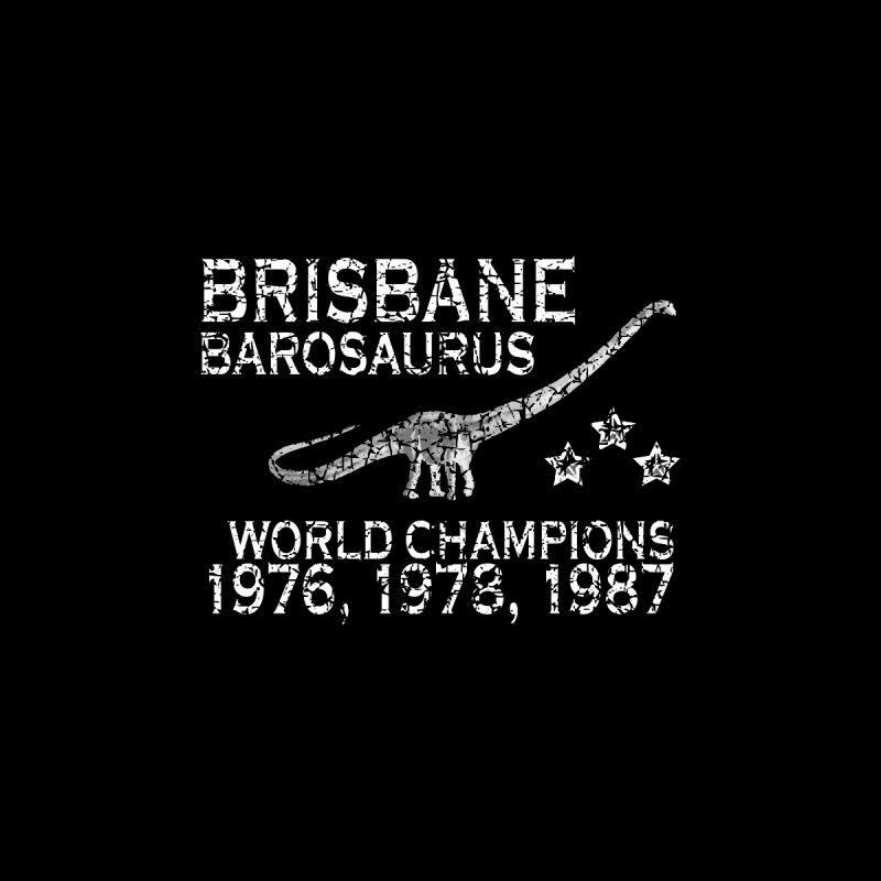 Dino cup - Brisbane Barosaurs (White) by siso's Shop