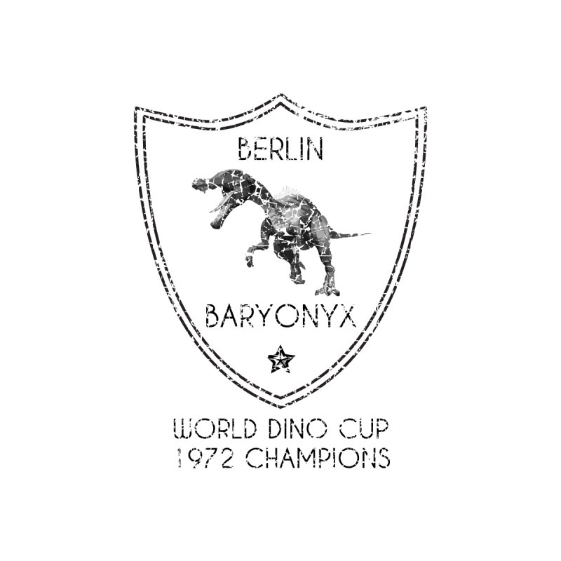 Dino cup - Berlin Baryonyx (Black) by siso's Shop