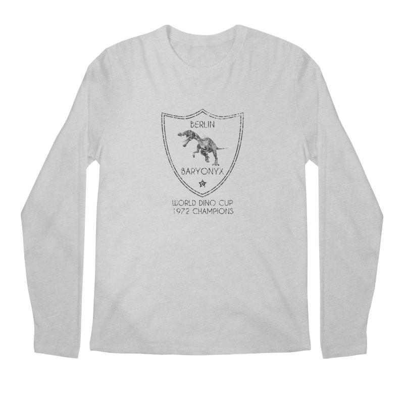 Dino cup - Berlin Baryonyx (Black) Men's Longsleeve T-Shirt by siso's Shop