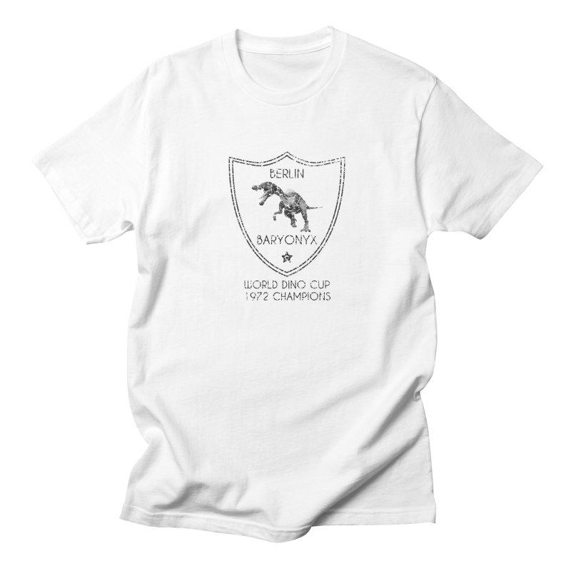 Dino cup - Berlin Baryonyx (Black) Men's T-Shirt by siso's Shop