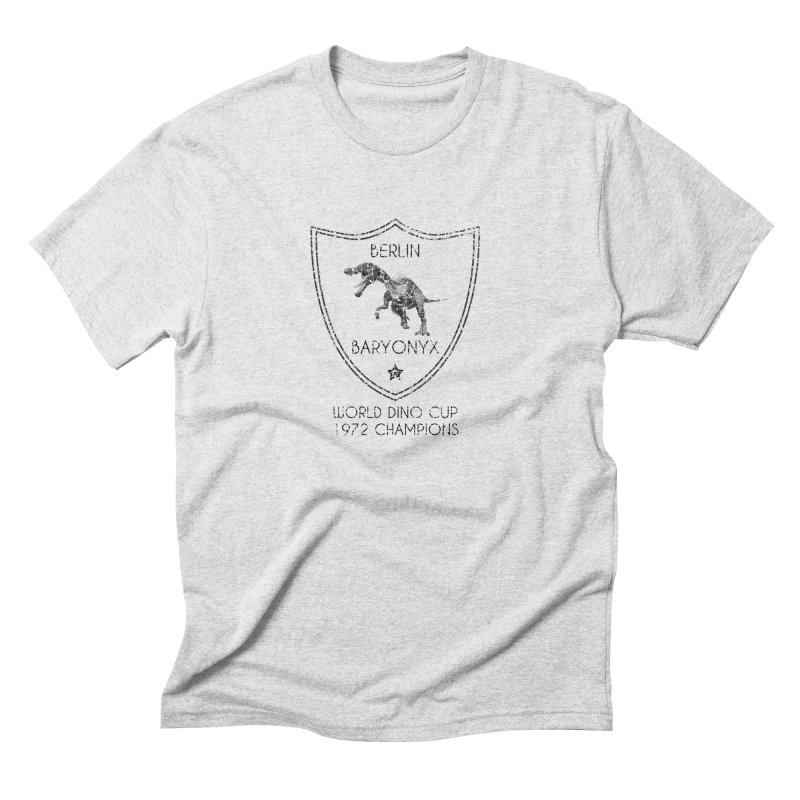 Dino cup - Berlin Baryonyx (Black) Men's Triblend T-shirt by siso's Shop