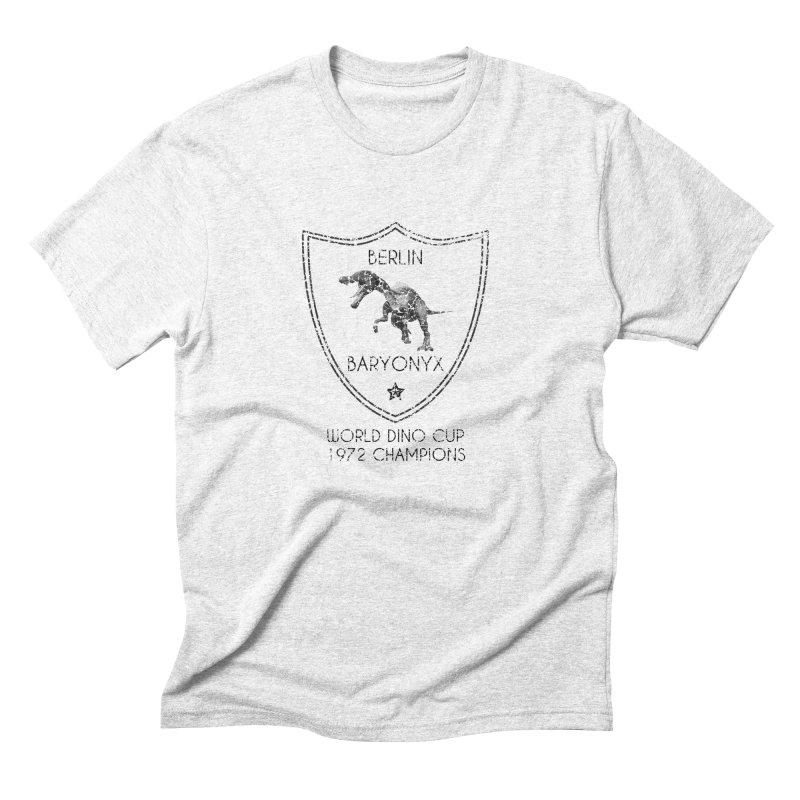 Dino cup - Berlin Baryonyx (Black) Men's Triblend T-shirt by siso's Shop