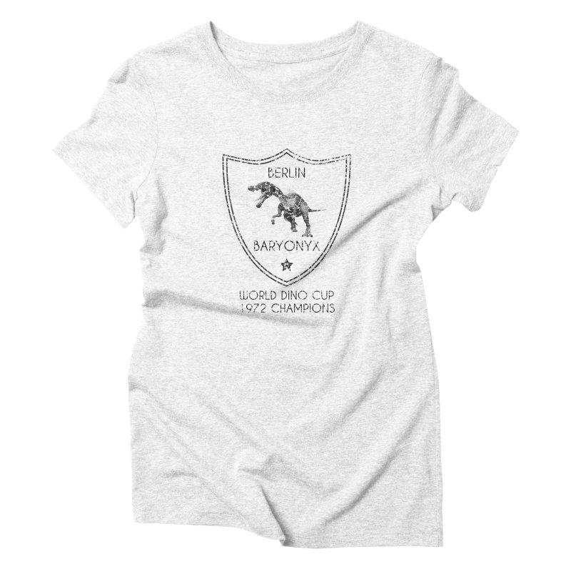 Dino cup - Berlin Baryonyx (Black) Women's Triblend T-shirt by siso's Shop