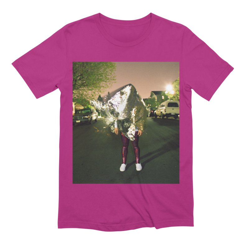 Tough Love Album Cover in Men's Extra Soft T-Shirt Berry by Sister Mantos Intergalactic Tienda