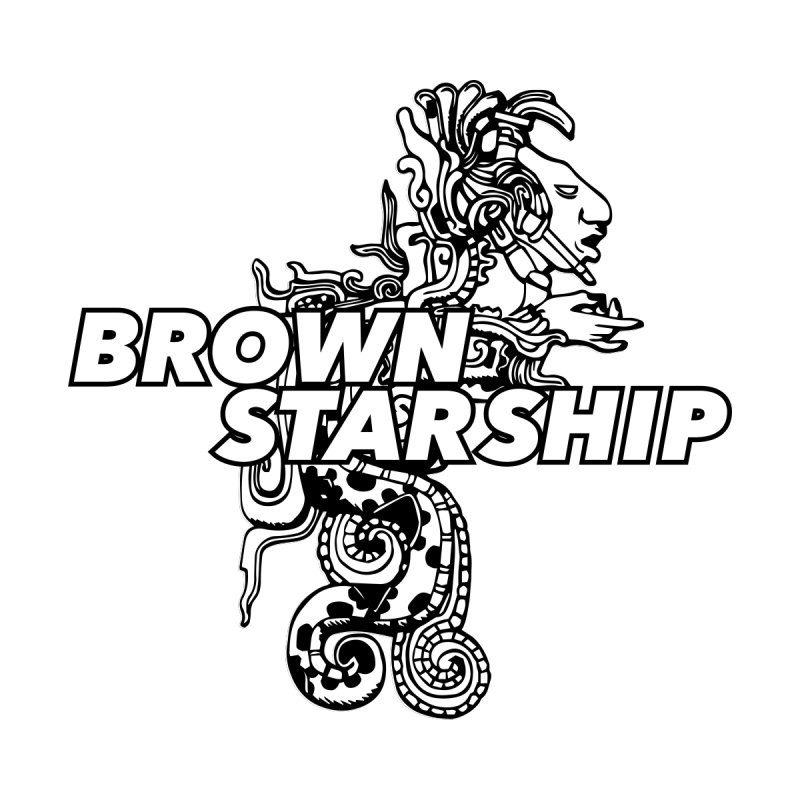 BrownStarship Logo Women's Sweatshirt by Sister Mantos Intergalactic Tienda