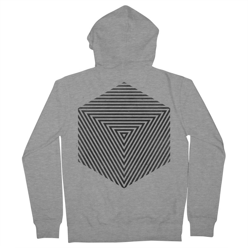 PLACE Cube Women's Zip-Up Hoody by Sitchko
