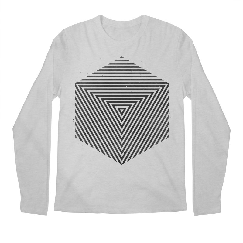 PLACE Cube Men's Longsleeve T-Shirt by Sitchko