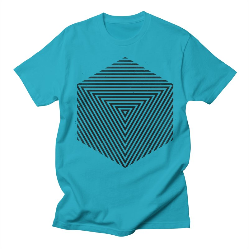 PLACE Cube Men's T-Shirt by Sitchko