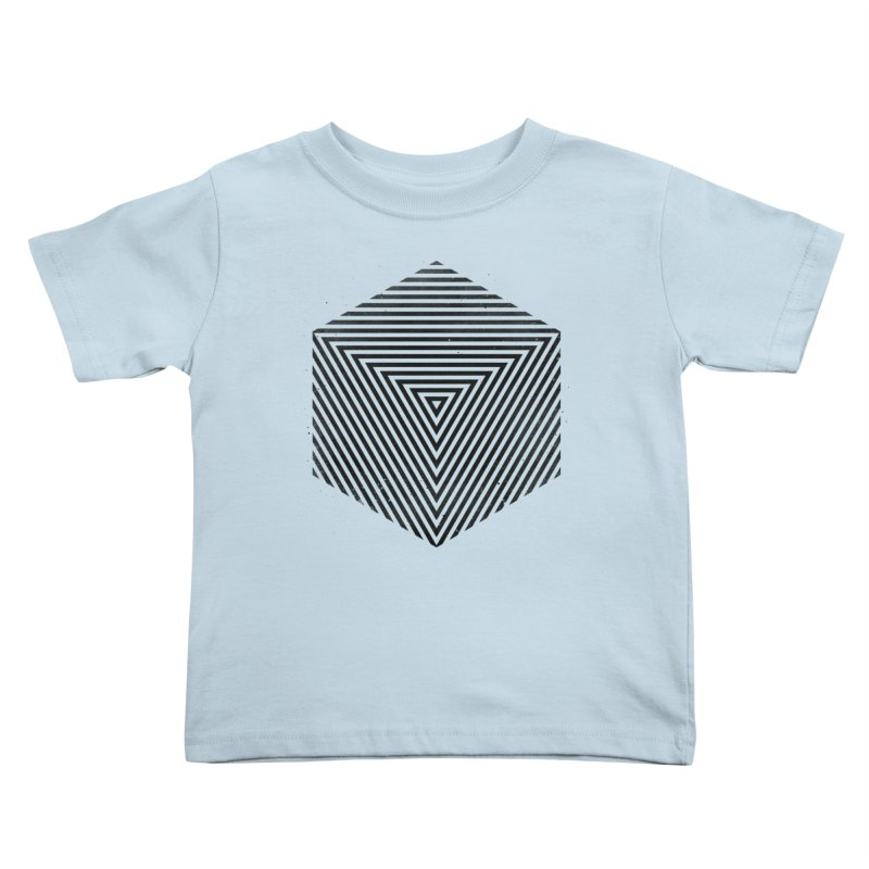 PLACE Cube Kids Toddler T-Shirt by Sitchko