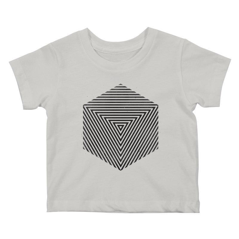 PLACE Cube Kids Baby T-Shirt by Sitchko