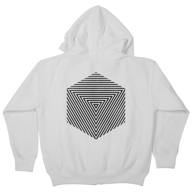 PLACE Cube Kids Zip-Up Hoody by Sitchko