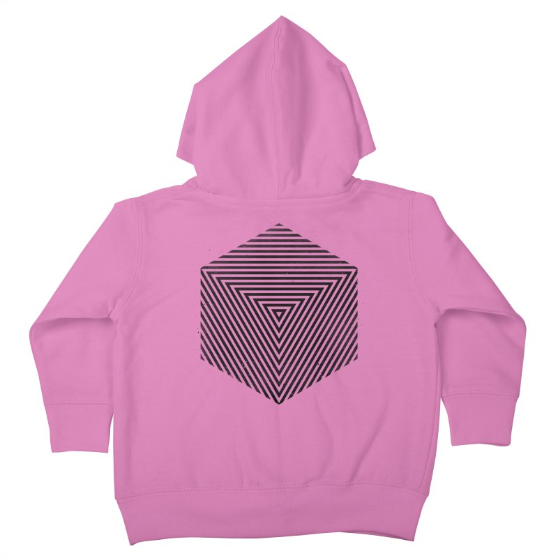 PLACE Cube Kids Toddler Zip-Up Hoody by Sitchko
