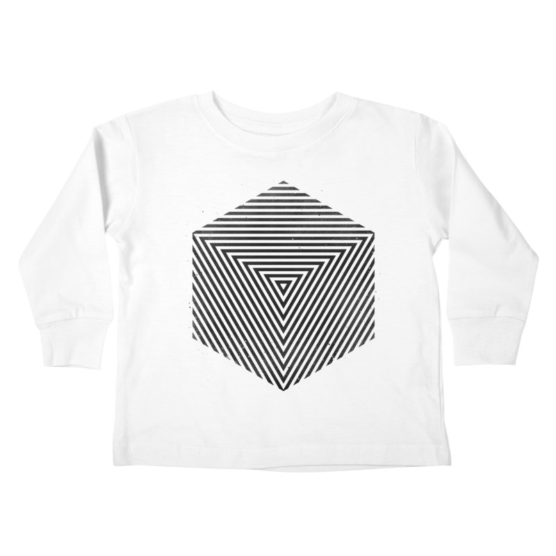 PLACE Cube Kids Toddler Longsleeve T-Shirt by Sitchko
