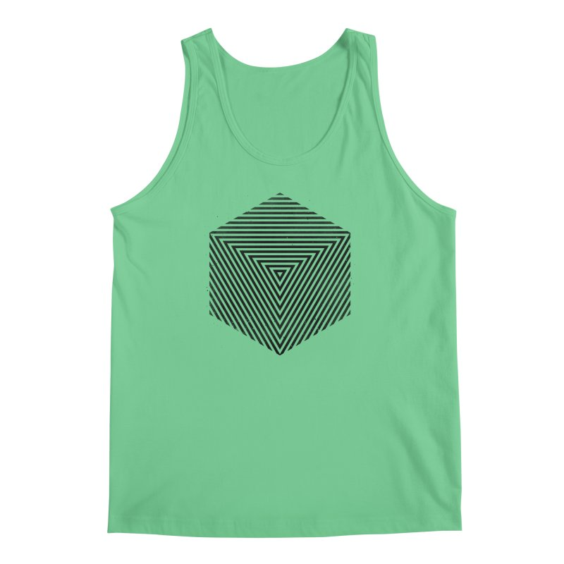 PLACE Cube Men's Tank by Sitchko