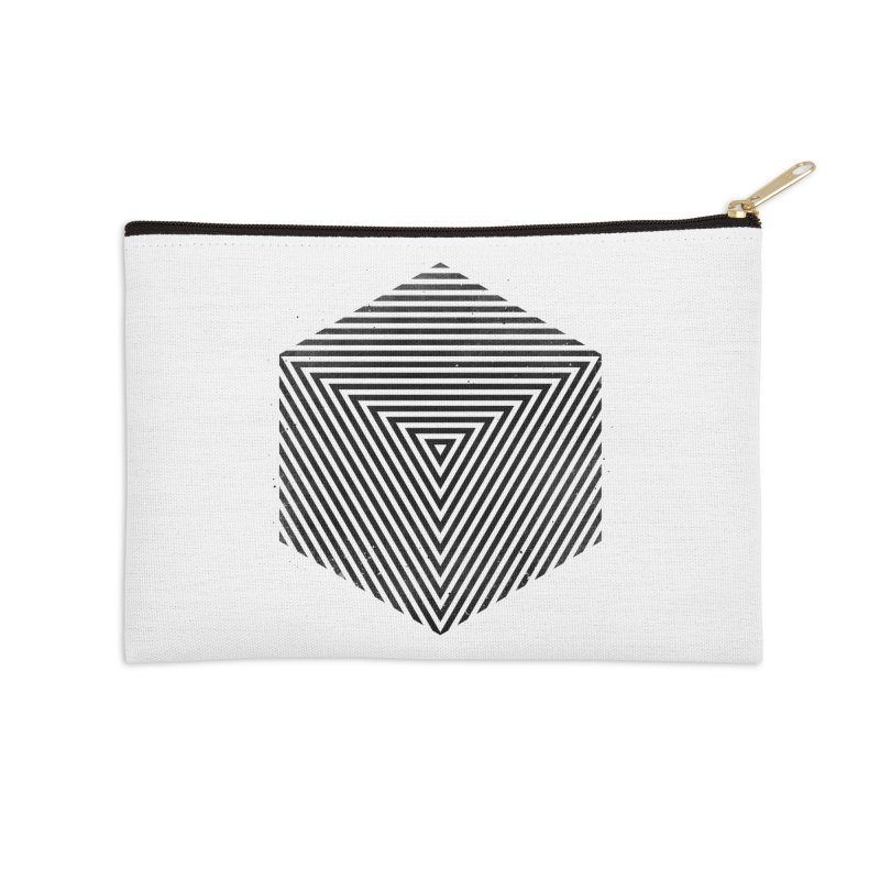 PLACE Cube Accessories Zip Pouch by Sitchko