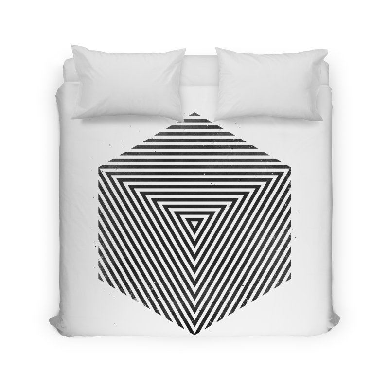 PLACE Cube Home Duvet by Sitchko