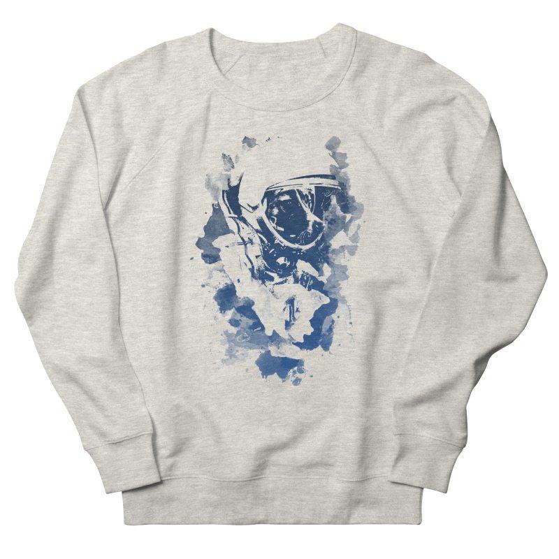 Space Dog Men's Sweatshirt by Sitchko