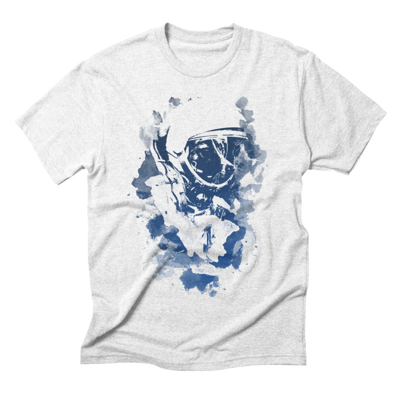 Space Dog Men's Triblend T-shirt by Sitchko